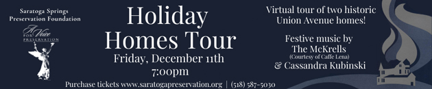 Saratoga Preservation - Holiday Home Tour