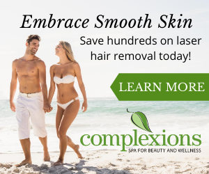 Complexions Laser Hair Removal Ad