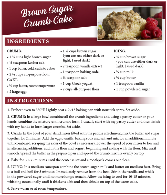 Reardon Crumb Cake Recipe