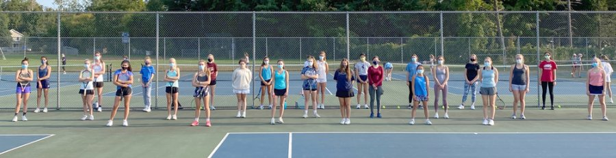 Saratoga Springs High School Varsity Tennis Team 2020. Photo provided.