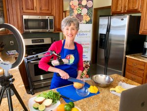 Online Plant-Based Cooking Classes Invite Capital Region Residents to Improve Health