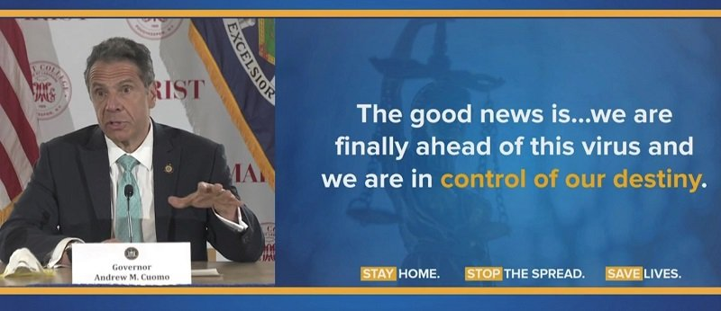 Gov. Cuomo Friday:  We'll be Talking about Construction, Manufacturing, Reopening in Upstate