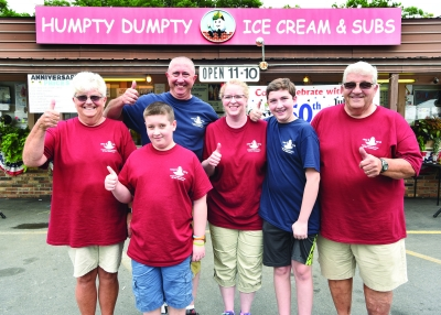 Keeping It Cool at Humpty Dumpty's Ice Cream for 50 years