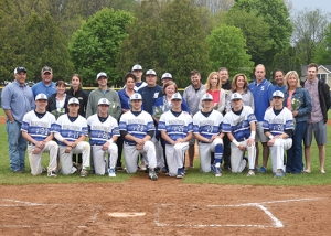 SSHS Baseball Seniors Honored