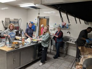 The Saratoga Springs Rotary Partners with Salvation Army to Feed Needy