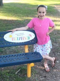 Caroline Street Elementary School's Buddy Bench:  For Students, by a Student