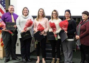 Ballston Spa Staff Recognized for National Certification