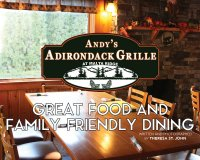 Andy's Adirondack Grille at Malta Ridge: Great Food and Family-Friendly Dining