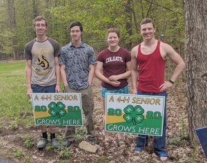 Saratoga County 4-H Celebrates 4-H Seniors