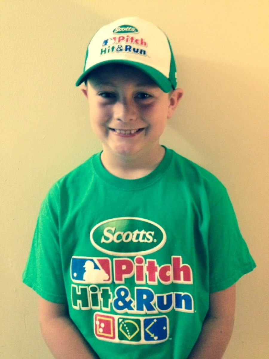 Local T-Ball Star, Pierce Byrne, Plays at Yankee Stadium