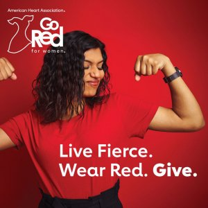 Wear Red & Give