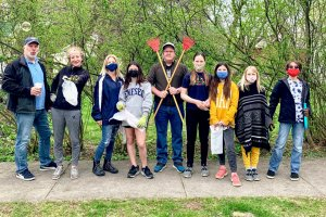 Sustainable Saratoga's Team Up to Clean Up: Over 100 Volunteers, Appx 200 Bags of Litter Picked Up