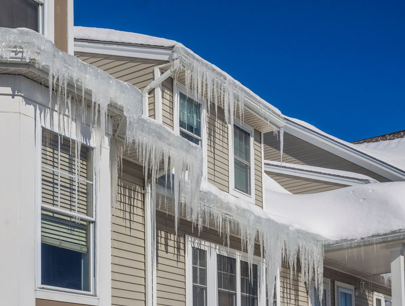 Ice Dams: Causes And Cures