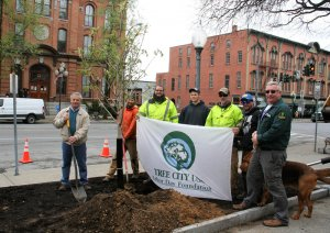 Saratoga Springs DPW Celebrates Arbor Day
